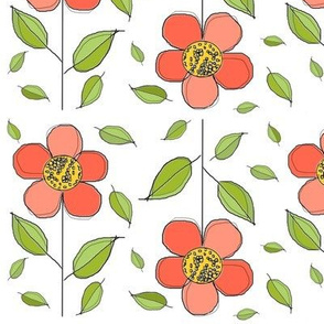 Phoebe pink leaves