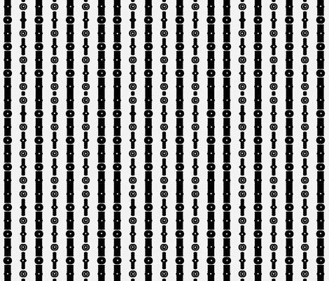 MA-1-Black-White_Beads fabric by smudgeart on Spoonflower - custom fabric
