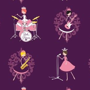 Rock Princess Band (Damask)