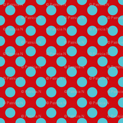 Red and Blue Dotted