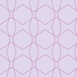 Geometric purpl
