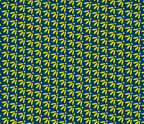 March of the Fireflies synergy0001 fabric by glimmericks on Spoonflower - custom fabric
