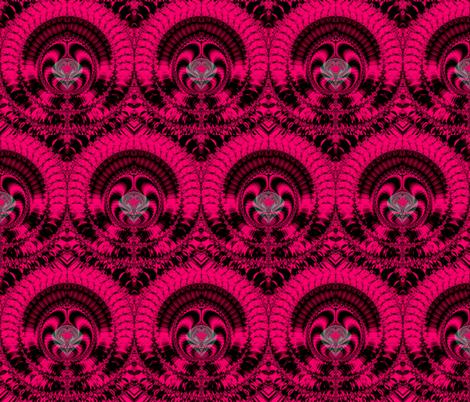 Fractal: Fantastic Fuchsia Fantasy fabric by artist4god on Spoonflower - custom fabric