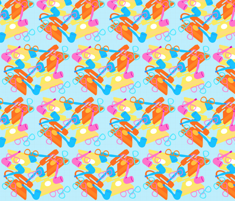 Nostalgia fabric by kcs on Spoonflower - custom fabric