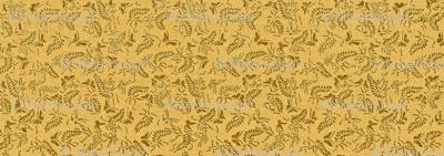butterfly ferns - yellow, brass