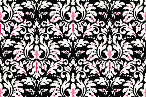 Ebony_Damask fabric by kelly_a on Spoonflower - custom fabric