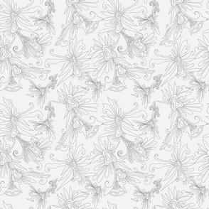 nostalgic flower pattern
