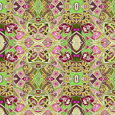 Secret Inner Life of Argyle fabric by edsel2084 on Spoonflower - custom fabric