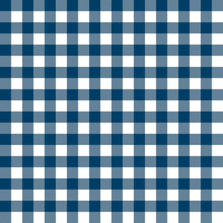 Blue And White Gingham Wallpaper