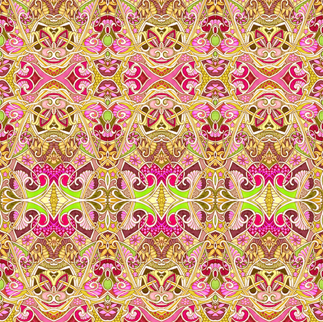 Princess of the Realm fabric by edsel2084 on Spoonflower - custom fabric