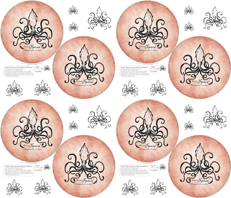 Colossal Squid fabric by trubludesign on Spoonflower - custom fabric