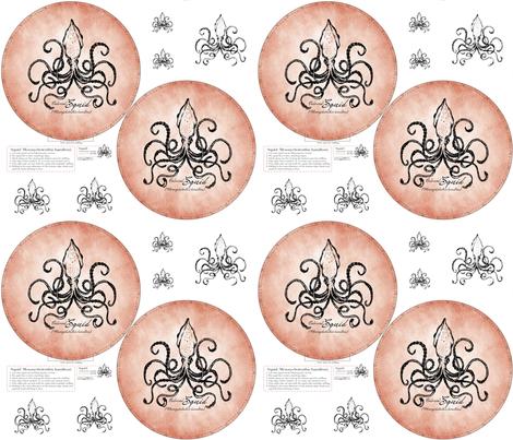 Colossal Squid fabric by trubludesign on Spoonflower - custom fabric
