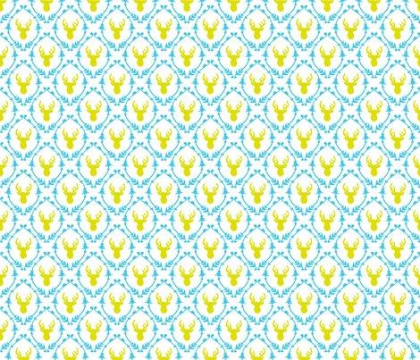 Rrroh_deer_pattern_-_mustard_blue_shop_preview