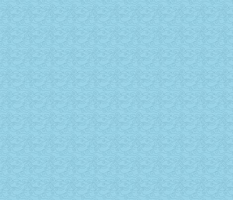 vague_pointillée_ciel_marine_S fabric by nadja_petremand on Spoonflower - custom fabric