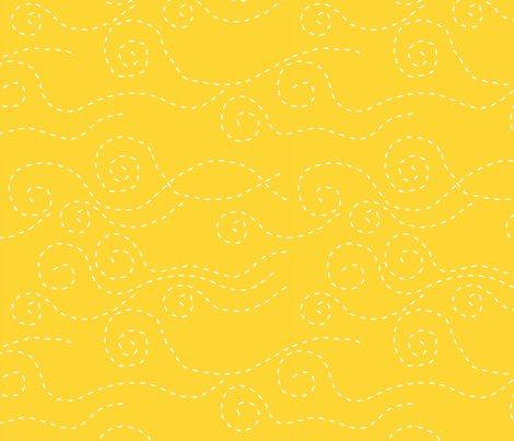 vague_pointillée_jaune_blanc_L fabric