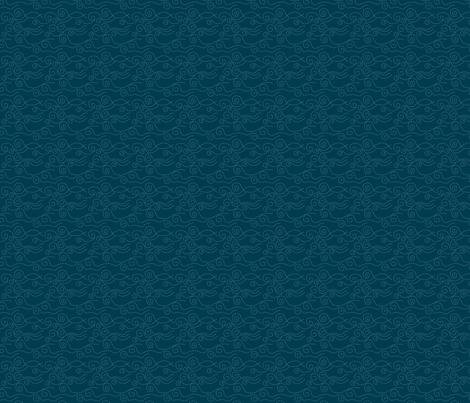 vague_pointillée_marine_ciel_S fabric by nadja_petremand on Spoonflower - custom fabric