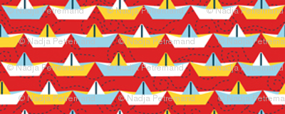 sailing_paper_boat_rouge_S