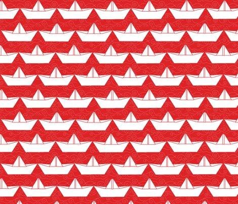 Paper_boat_blanc_bord_rouge_l_shop_preview