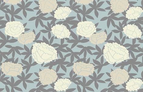 Zen Floral fabric by fable_design on Spoonflower - custom fabric