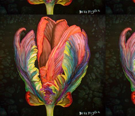 Tulip 6 fabric by gabrielladixxmiglia on Spoonflower - custom fabric