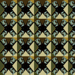 textile__X_orange__baby_blue_black