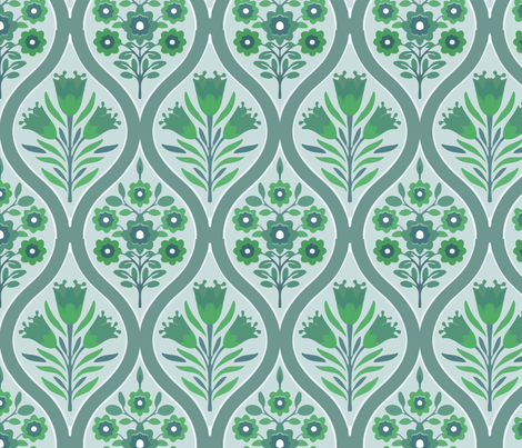 classic walls fabric by myracle on Spoonflower - custom fabric