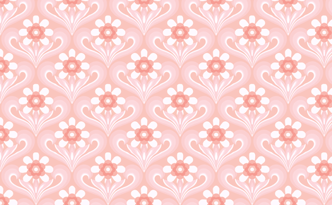 pretty in pink fabric by myracle on Spoonflower - custom fabric