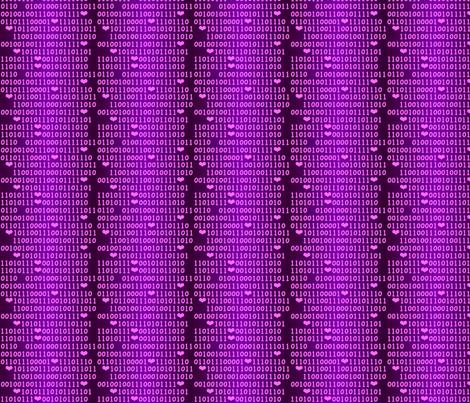 binary_love() fabric by nicolej on Spoonflower - custom fabric