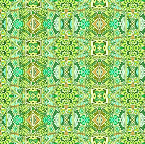 Weed Patch fabric by edsel2084 on Spoonflower - custom fabric