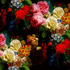 baroque flowers