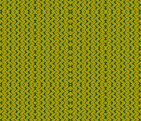 Leaf path green fabric by flyingfish on Spoonflower - custom fabric