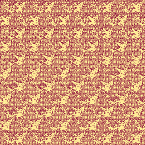 Geese fabric by amyvail on Spoonflower - custom fabric