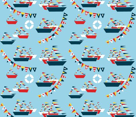 Cedeira azul fabric by cousaspequenas on Spoonflower - custom fabric