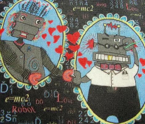 Cute Robot Love in Geek World