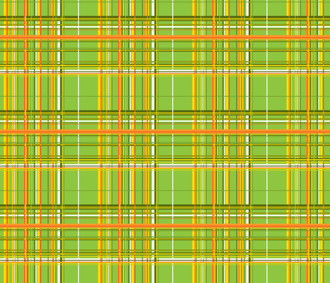 Garden Plaid fabric by ruthevelyn on Spoonflower - custom fabric