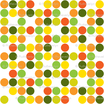 Garden Dots Light -small