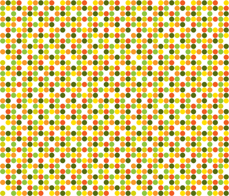 Garden Dots Light -small fabric by ruthevelyn on Spoonflower - custom fabric
