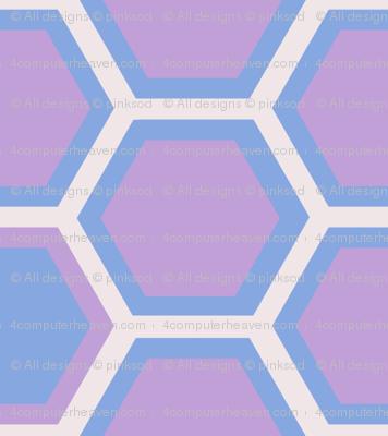 Hexagon Halfsies! - Desert Night - Desert Night Hex - © PinkSodaPop 4ComputerHeaven.com