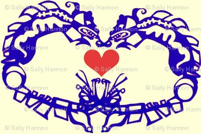 Sea Monsters in Love
