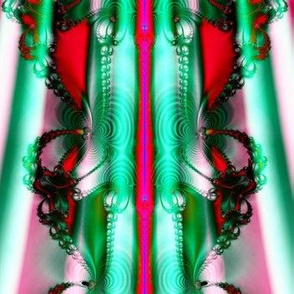 Fractal: Christmas Ribbons