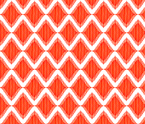Beat Waves fabric by ksteve on Spoonflower - custom fabric