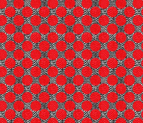 Aha! Pop Art Chicken Pox fabric by vo_aka_virginiao on Spoonflower - custom fabric