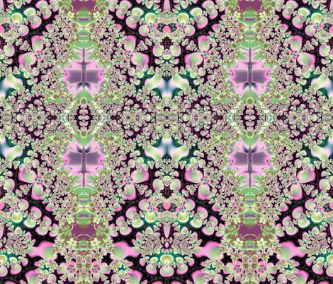 Fractal: Spring Blossoms fabric by artist4god on Spoonflower - custom fabric