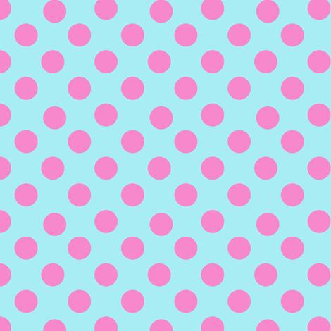 Birthday Polka Dots fabric by karenharveycox on Spoonflower - custom fabric
