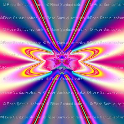 Fractal: Pink Satin Bows
