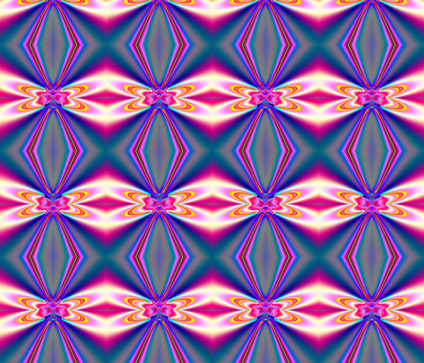Fractal: Pink Satin Bows fabric by artist4god on Spoonflower - custom fabric