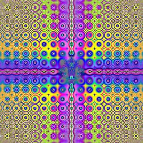 Fractal:  Rainbow Fluorescent Lights