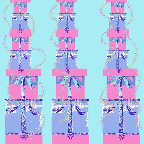 Birthday Gifts fabric by karenharveycox on Spoonflower - custom fabric