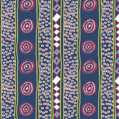 Matisse 3 with White: small version fabric by tallulahdahling on Spoonflower - custom fabric