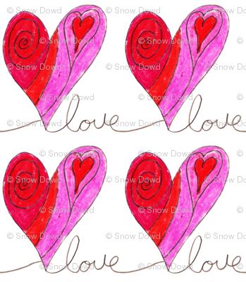 love letter heart